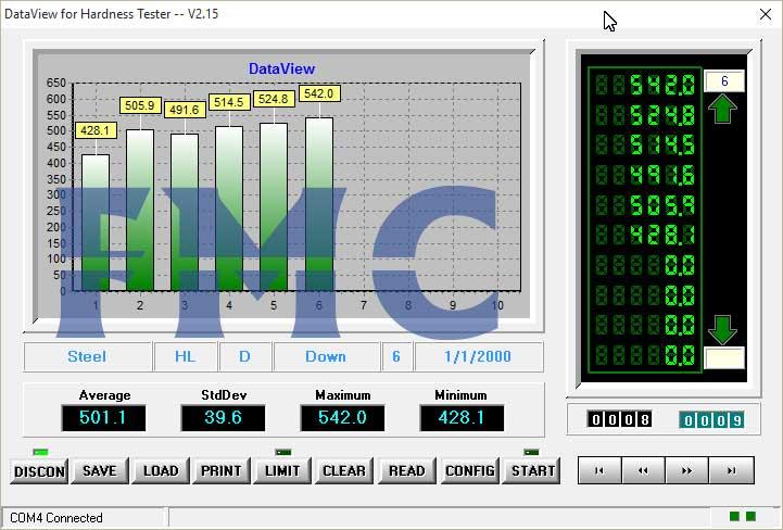 سختی سنج پرتابل FMC