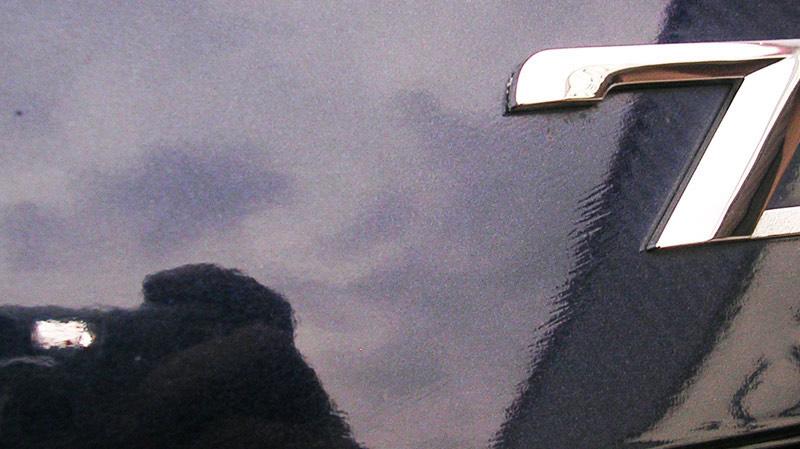 سمباده زنی علامت رنگ شدگی خودرو