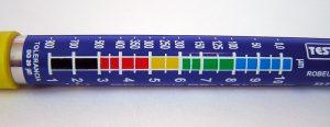 درجه بندی دستگاه تستر رنگ خودرو