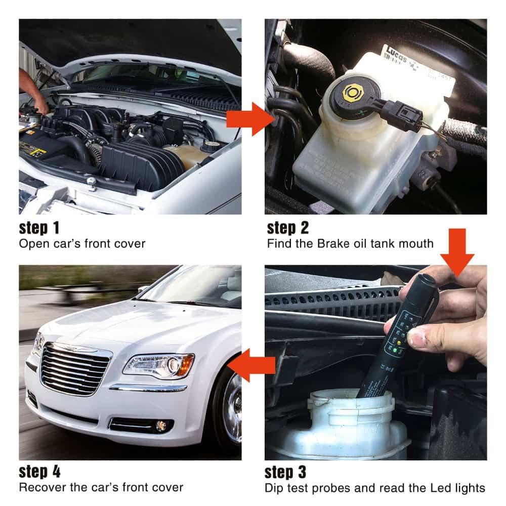 روش تست روغن خودرو