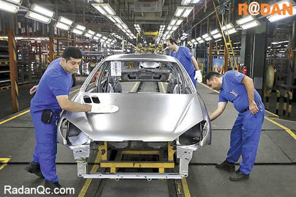 تولید کارخانه ای خودرو